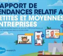 4 enseignements à retenir du nouveau rapport des tendances des PME de Salesforce